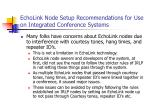 echolink node setup recommendations for use on integrated conference systems