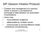 sip s ession initiation protocol