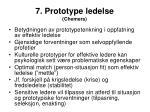 7 prototype ledelse chemers