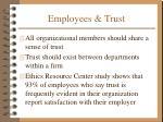 employees trust