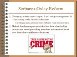 sarbanes oxley reform10
