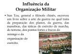 influ ncia da organiza o militar