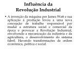 influ ncia da revolu o industrial