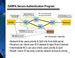 darpa secure authentication program