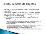 odmg modelo de objetos26