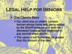 legal help for seniors