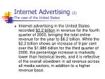 internet advertising 2 the case of the united states