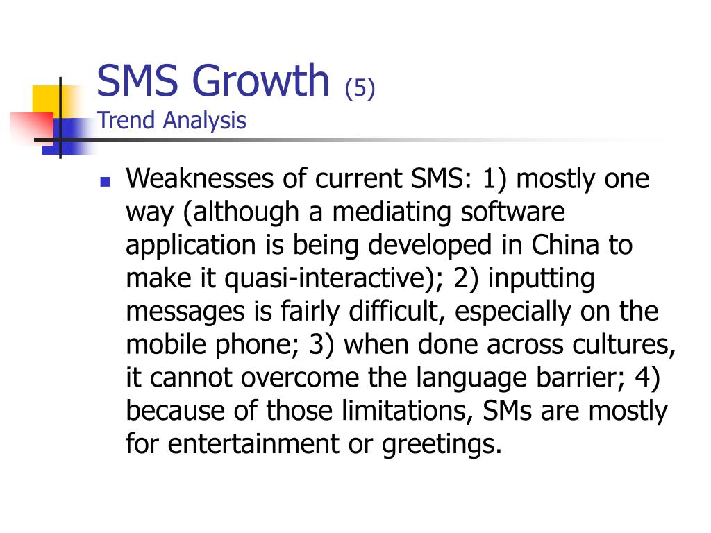 SMS Growth