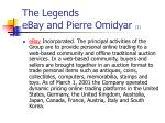the legends ebay and pierre omidyar 1