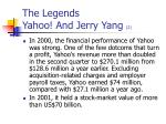 the legends yahoo and jerry yang 2