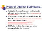 types of internet businesses 2