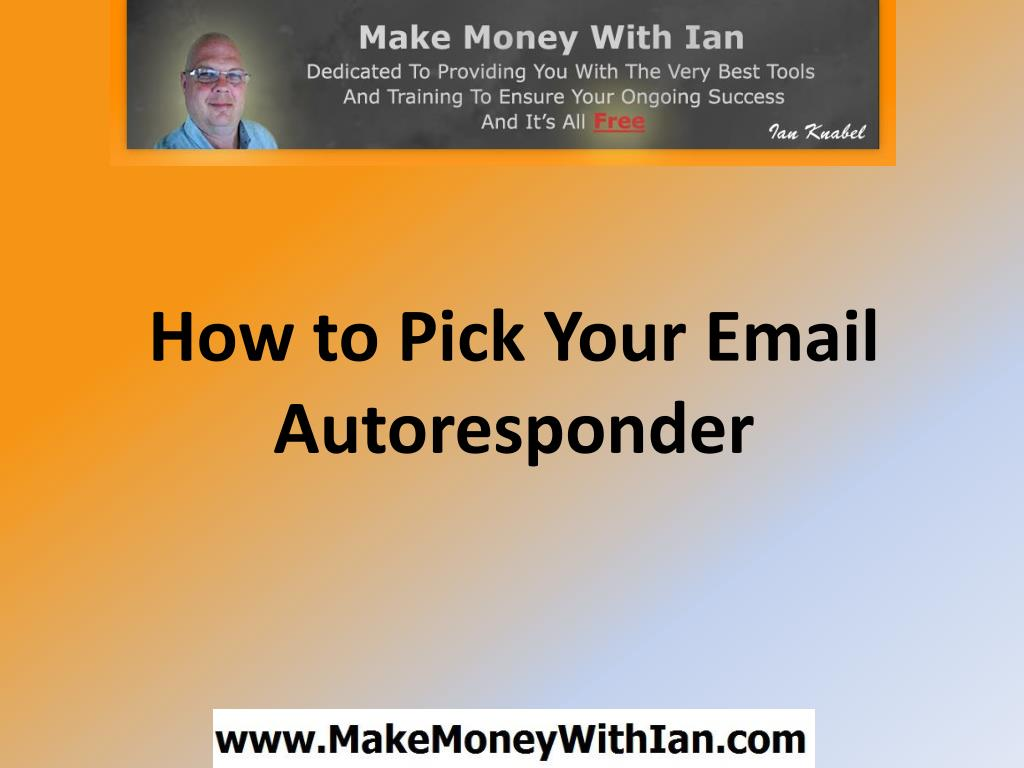 how to pick your email autoresponder l.