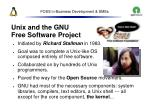 foss in business development smes10