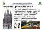 foss in business development smes14