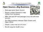 foss in business development smes27