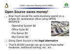 foss in business development smes31