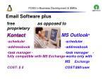 foss in business development smes46