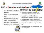 foss in business development smes50