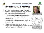 the gnu linux project17