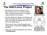 the gnu linux project18