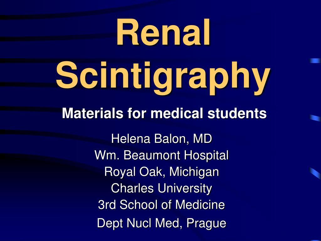 renal scintigraphy l.
