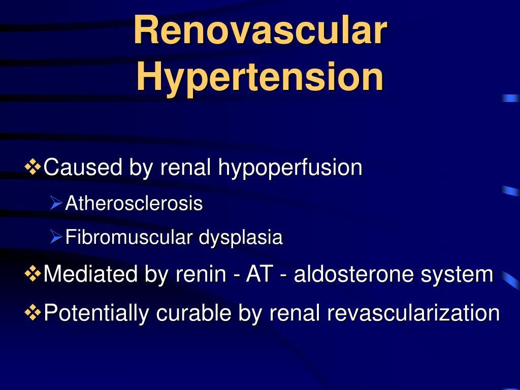 Renovascular Hypertension