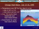 chicago heat wave july 12 16 1995