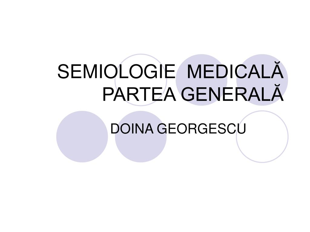 semiologie medical partea general l.