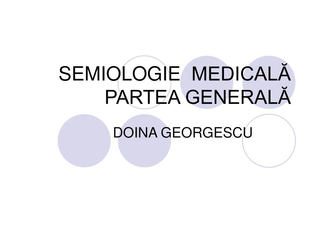 semiologie medical partea general l.