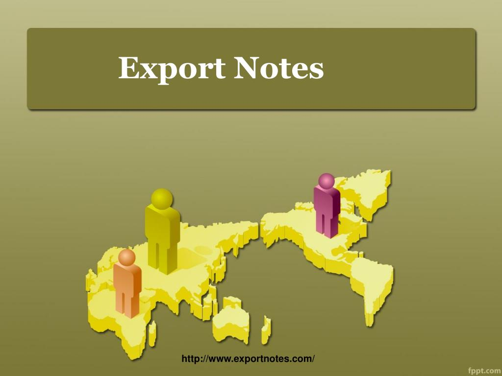 export notes l.