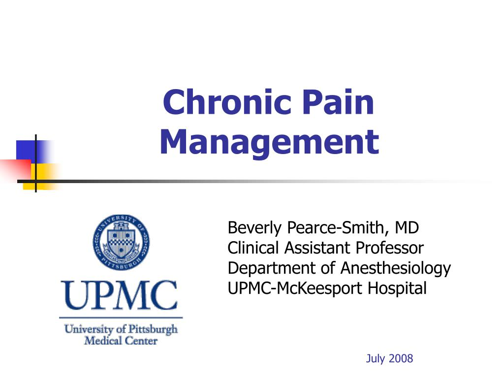 PPT - Chronic Pain Management PowerPoint Presentation - ID:222197