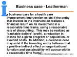 business case leatherman