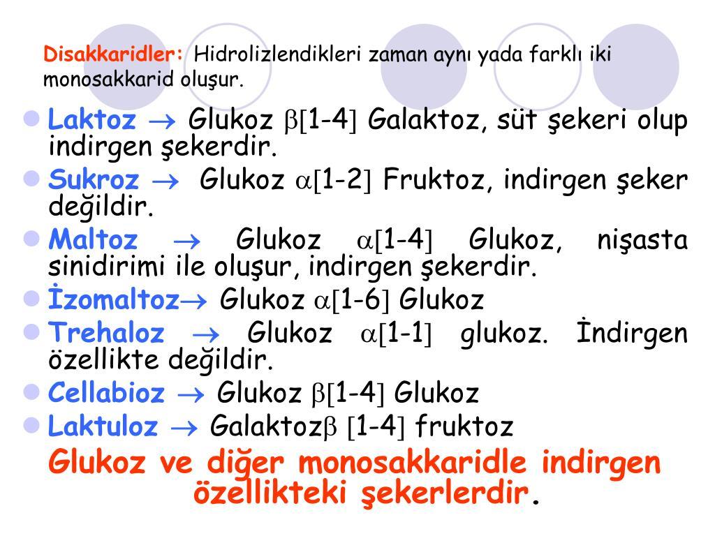 Disakkaridler: