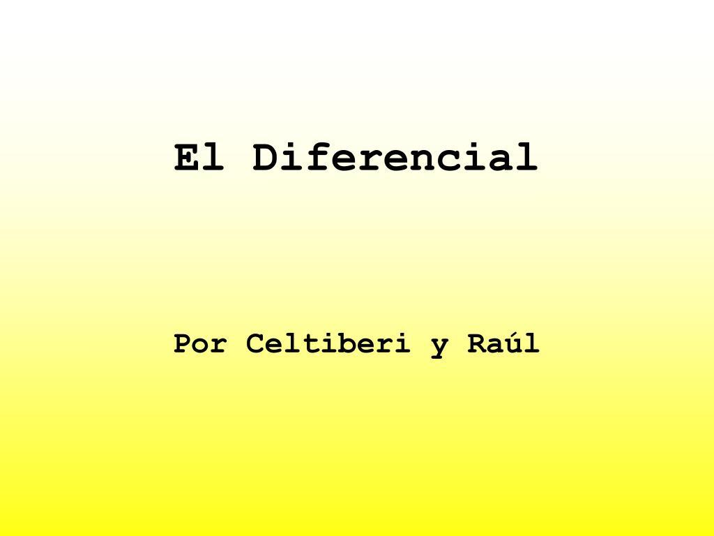 el diferencial l.