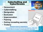 cyberbulling and cyberthreats