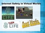 internet safety in virtual worlds