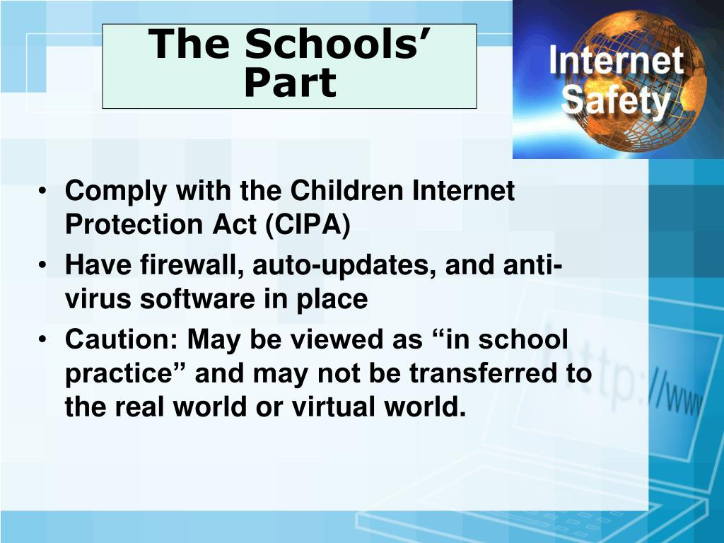 child internet protection act cipa