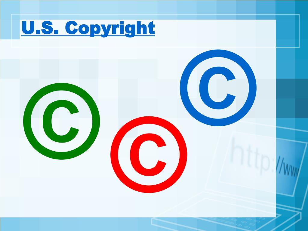 U.S. Copyright
