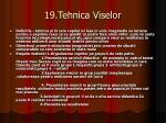 19 tehnica viselor