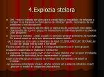 4 explozia stelara