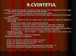 9 cvintetul