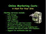 online marketing costs21