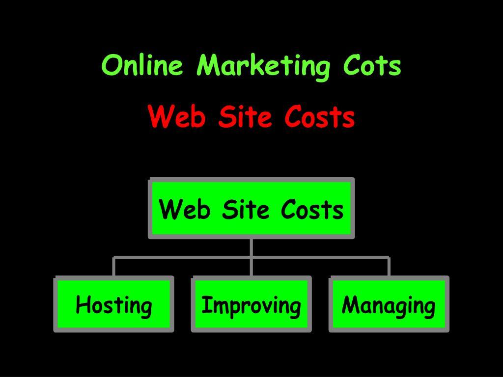 Online Marketing Cots
