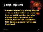 bomb making47