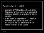 september 11 200115