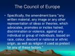 the council of europe24