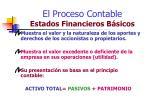 el proceso contable estados financieros b sicos6