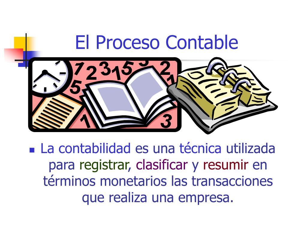 el proceso contable l.