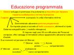 educazione programmata