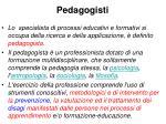 pedagogisti